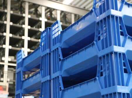 Insect Farming Crate Handling
