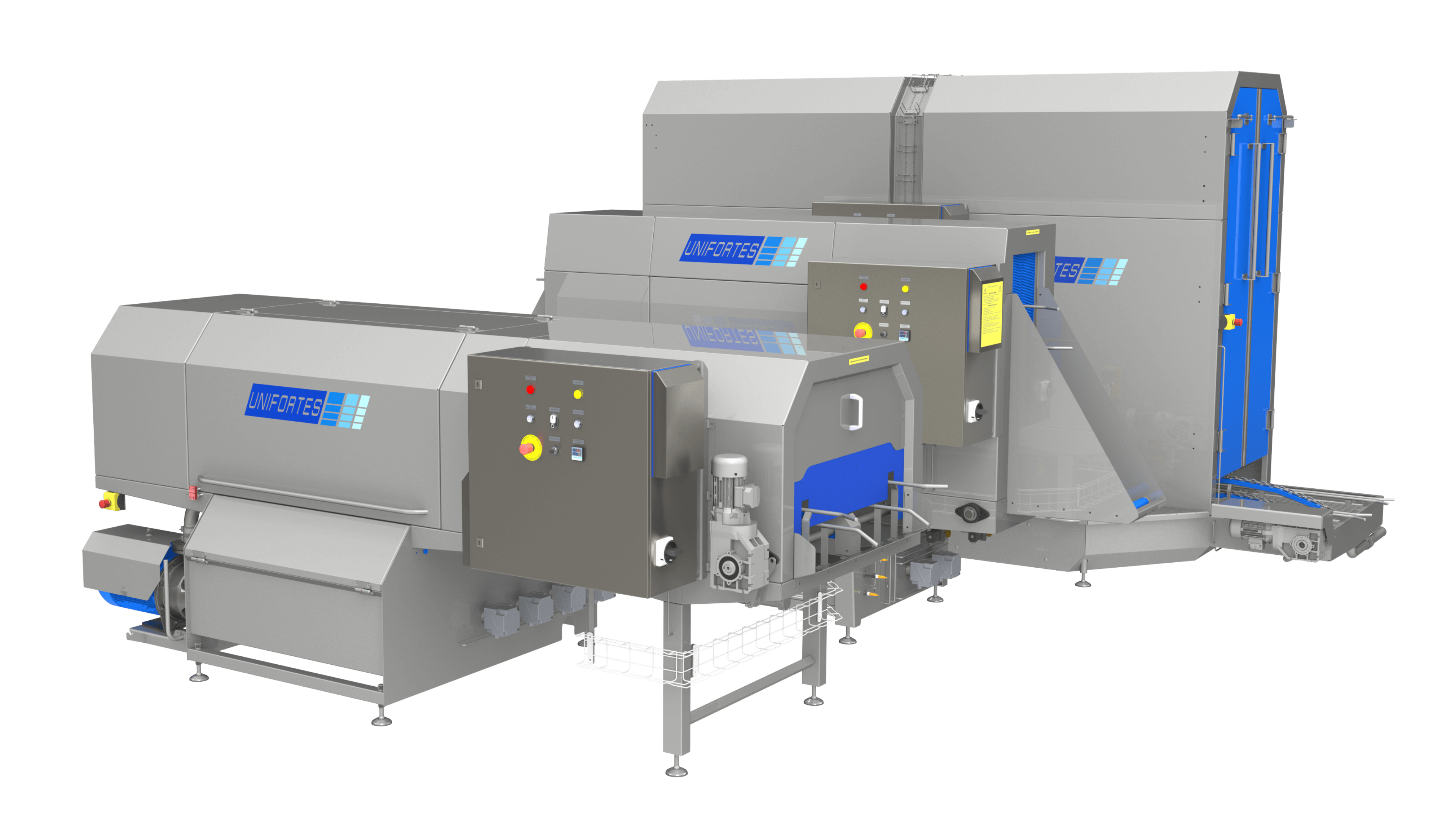 Washers for the pharmaceutical industry